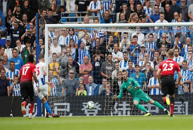 بالفيديو.. برايتون يصعق مانشستر يونايتد في الدوري الإنجليزي