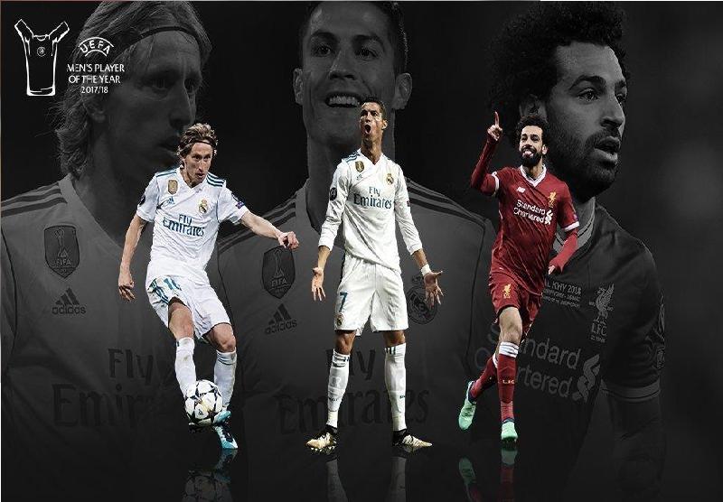 صلاح ينافس رونالدو ومودريتش على لقب أفضل لاعب في أوروبا