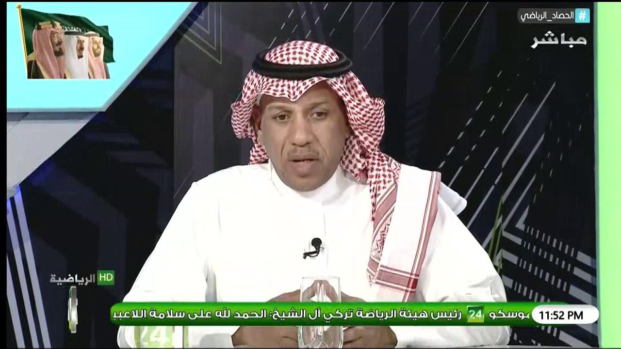 بالفيديو..سعد مبارك: هذا اللاعب يخدم النصر بشكل غير طبيعي..ومهما كان عدد الأجانب..لا يلعب غيره..ورد مثير من الشعلان!