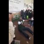 """شاهد بالفيديو.. ماجد عبدالله يتحول إلى """"حارس مرمى"""" خلال زيارته لمخيم الزعتري بالأردن"""