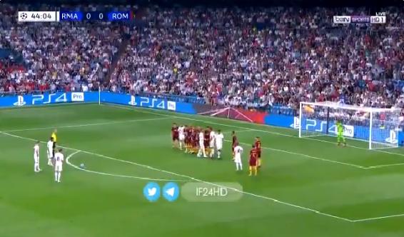 شاهد.. ايسكو يسجل هدف رائع لـريال مدريد في مرمى روما