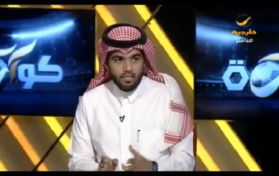 بالفيديو.. خالد القحطاني:هذا اللاعب هو أبرز مدافع سعودي حاليًا !