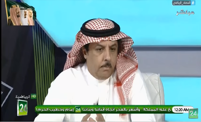 """بالفيديو..خالد المعجل:لاعبو الهلال لديهم مشكلة """"عدم احترام الخصم""""!"""