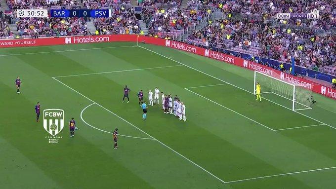 بالفيديو.. ميسي يسجل الهدف الأول لبرشلونة في شباك آيندهوفن بدوري أبطال أوروبا