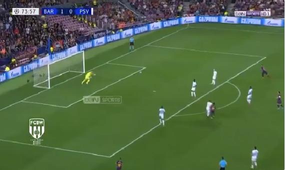 بالفيديو.. ديمبلي يسجل هدف رائع لبرشلونة في مرمى إيندهوفن من تسديدة صاروخية