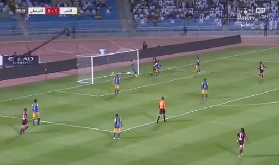 بالفيديو.. الفيصلي يسجل هدف التعادل في مرمى النصر