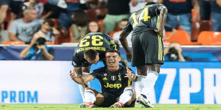 طرد كريستيانو رونالدو قد يعجل بإستخدام هذه التقنية في دوري أبطال أوروبا