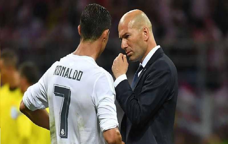 """رئيس ريال مدريد """"يصالح"""" رونالدو وزيدان بـ """"مفاجأة"""""""