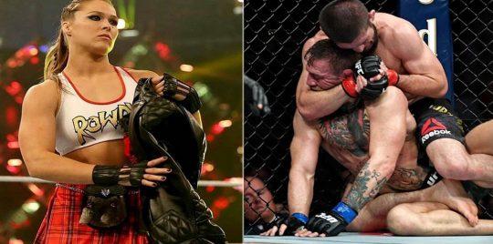 WWE.. لماذا هاجمت روندا روزي الأيرلندي كونور ماكغريغور؟