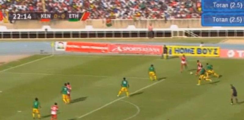 شاهد.. لاعب كينيا يسجل هدف عالمي في تصفيات كأس أمم افريقيا