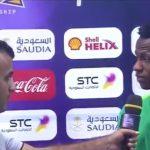 """بالفيديو.. """"عبد الفتاح آدم"""" يعلق على نتيجة مباراة السعودية والعراق"""