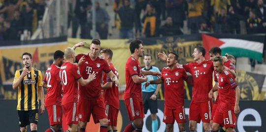 بالفيديو.. بايرن ميونيخ يفوز على أيك أثينا بثنائية في دوري أبطال أوروبا