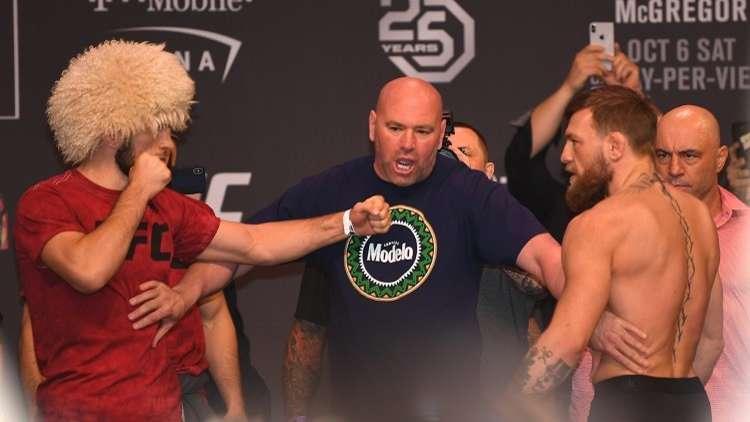 رئيس منظمة (UFC) يقرر مصير حبيب نورمحمدوف