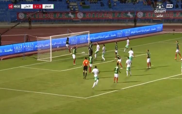 بالفيديو.. دي سوزا يسجل الهدف الأول للأهلي في شباك الاتفاق