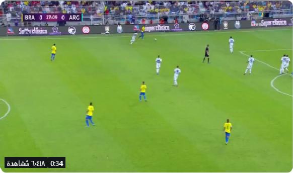 بالفيديو.. حارس الأرجنتين يمنع المنتخب البرازيلي من فرصة هدف محقق