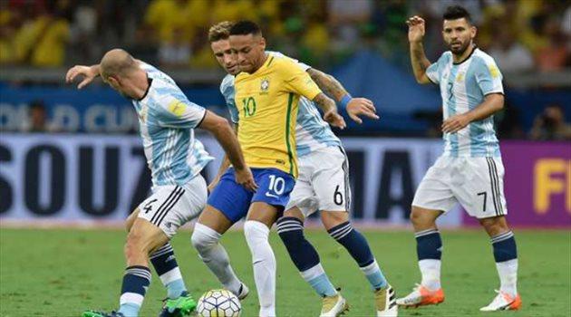 مفاجأة.. مباراة البرازيل والأرجنتين في السوبر كلاسيكو  لن تنتهي بالتعادل