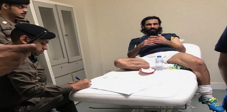 حسين عبدالغني يصعد أزمته ضد معاذ إلى الشرطة