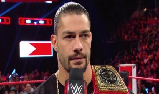 """بالفيديو..رومان رينز يعتزل """"مؤقتًا"""".. ويتنازل عن لقب WWE.. والسبب خطير!"""