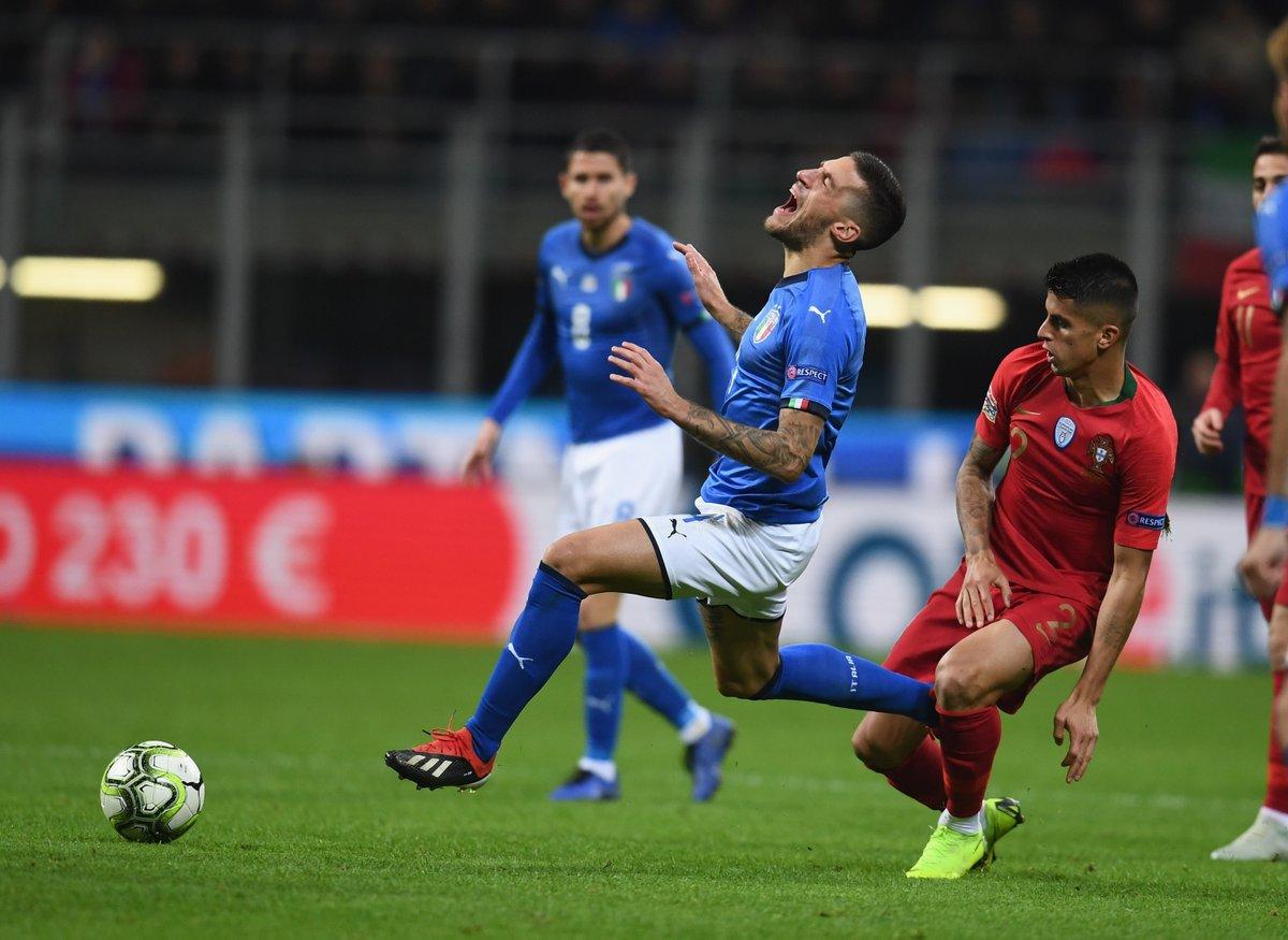 البرتغال تتعادل مع إيطاليا وتتأهل للدور نصف النهائي في دوري الأمم الأوروبية