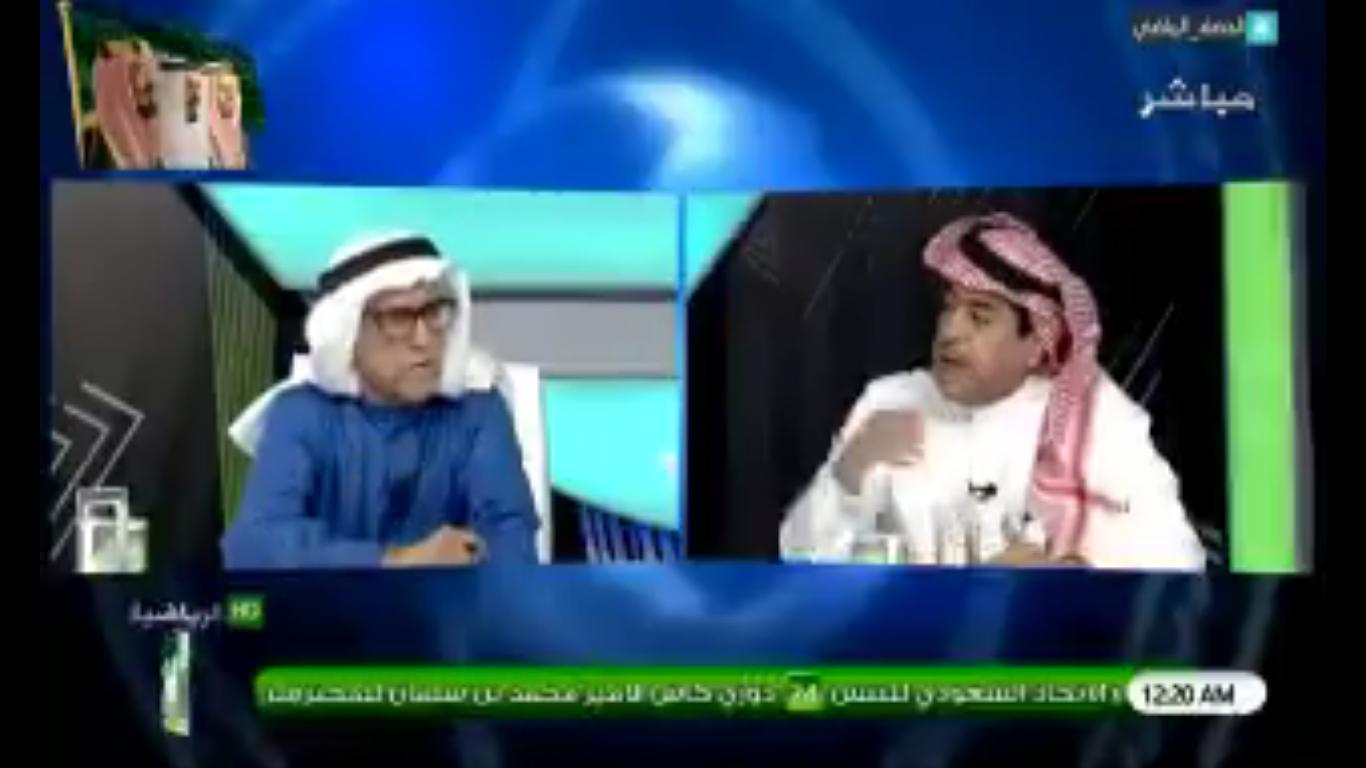 بالفيديو..الطخيم لـ عبدالرحمن السماري: هل تستطيع أن تقول أن الهلال 14 سنة لم يحقق أي بطولة؟