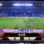شاهد.. مشادات عنيفة بين لاعبي تونس والمغرب بعد نهاية المباراة