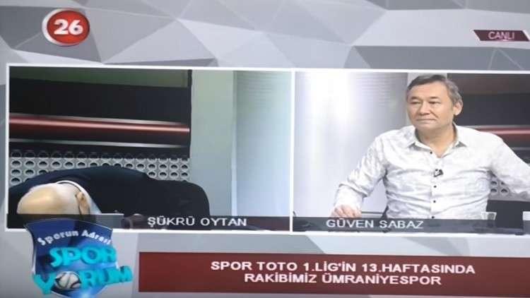 بالفيديو.. نوبة قلبية لمذيع تركي في برنامج رياضي على الهواء مباشرة!