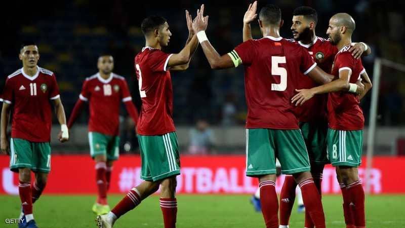بالفيديو.. المغرب تفك عقدة الكاميرون بثنائية زياش