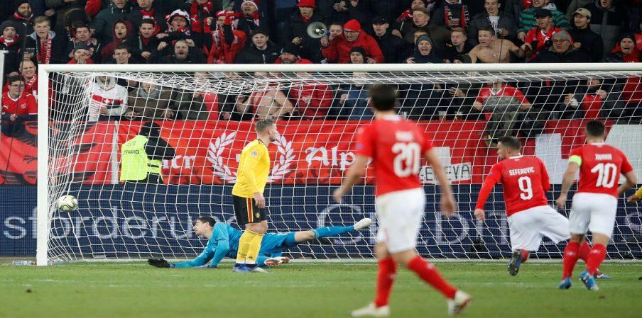 بالفيديو… سويسرا تكتسح بلجيكا بخماسية وتصعد إلى قبل نهائي دوري الأمم الأوروبية