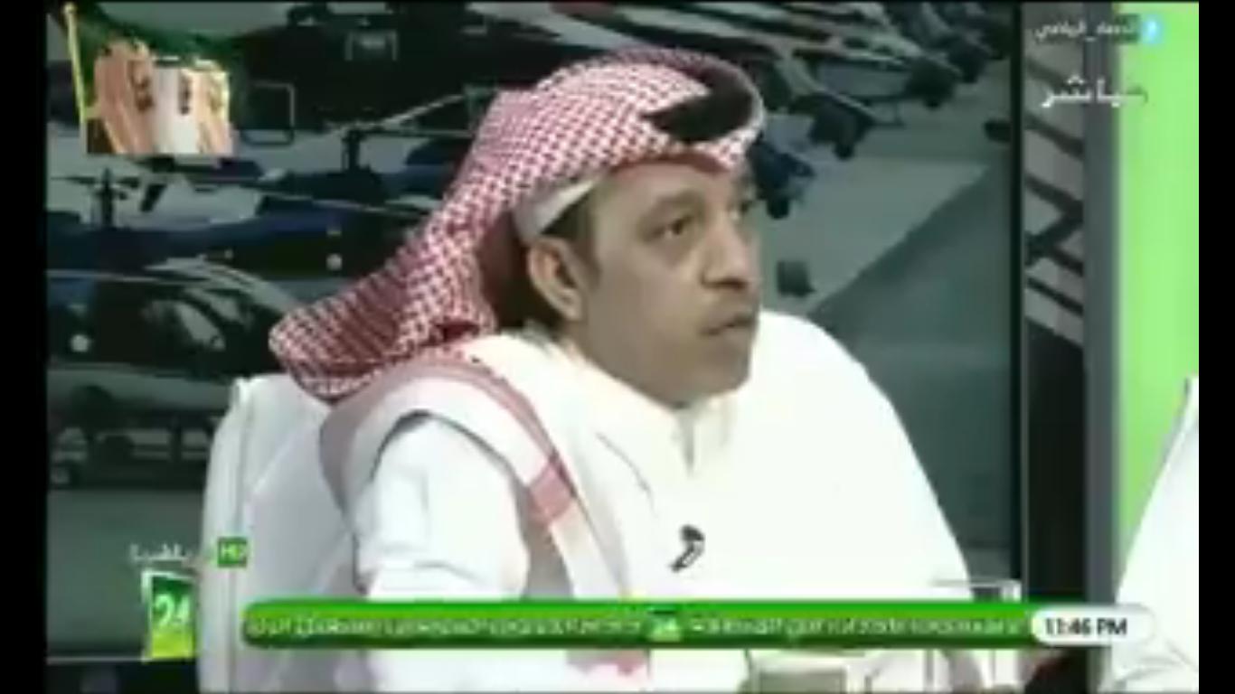 """بالفيديو..محمد الذايدي لـ  خالد الشعلان:  هل تتوقع ان """"بيتزي"""" هلالي؟"""