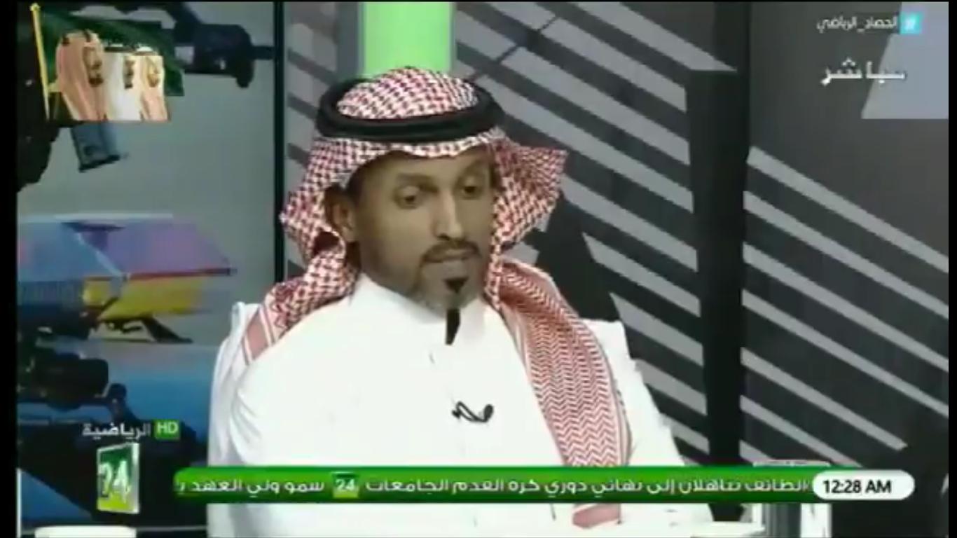 بالفيديو..إبراهيم ماطر: لو امتلك الاتحاد 2 او 3 لاعبين مثل هذا اللاعب ..لكان الفريق منافسا على القمة!