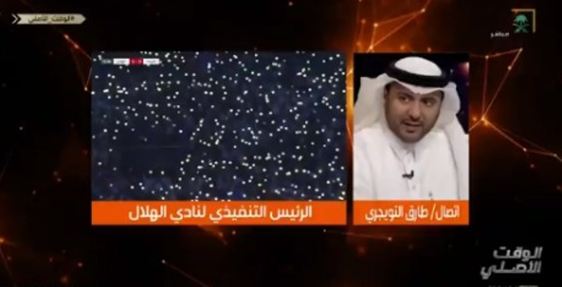 """شاهد.. تعليق ناري من """"طارق التويجري"""" عن محاولة زعزعة الهلال"""