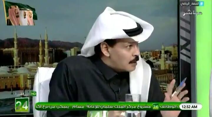 """بالفيديو.. الطريقي: عنوان مباراة الديربي """"الهلال نجى من اول هزيمة و الفار ابتسم لنادي النصر """" !!"""