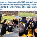 شاهد بالفيديو: مشجعون يحولون المدرجات إلى ساحة للقتال بعد هزيمة فريقهم!