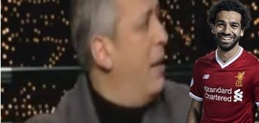 شاهد.. موقف محرج لمذيع مصري أثناء حديثه عن محمد صلاح