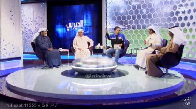 بالفيديو.. اعلامي كويتي لمذيع: ما نتشرف نعطيك قميص الهلال