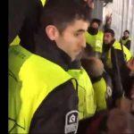 فيديو يوثق ضرب عناصر أمن برشلونة لمشجعي توتنهام