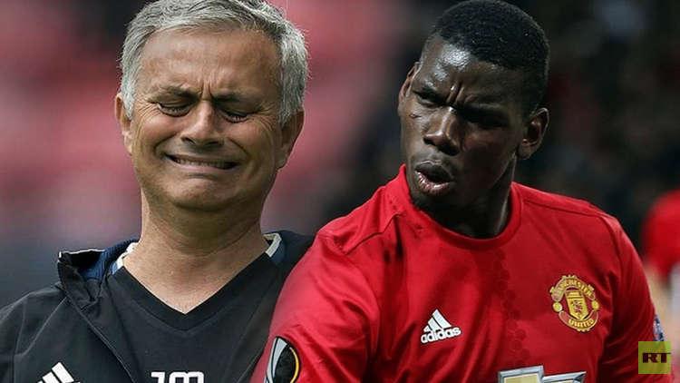 بوغبا يسخر من إقالة مورينيو