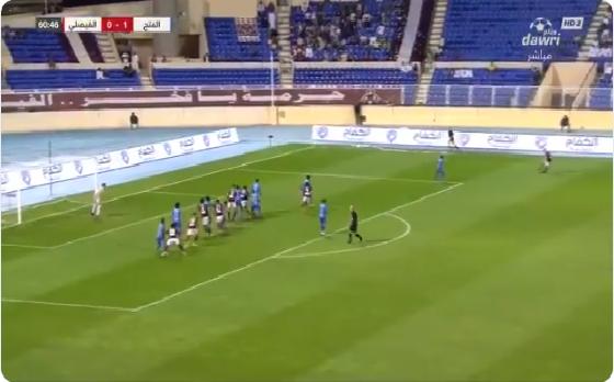 بالفيديو.. الفيصلي يسجل هدف التعادل في مرمى الفتح
