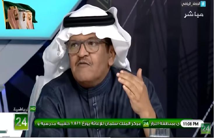 """شاهد.. تعليق عدنان جستنيه على تصريح """"خالد البلطان"""" بعد فوز الشباب على الأهلي!"""