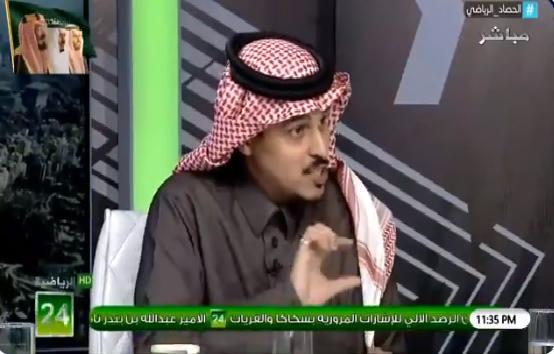 بالفيديو.. طارق النوفل : ما حدث من إدارة نادي النصر خطأ لا يغتفر إطلاقاً