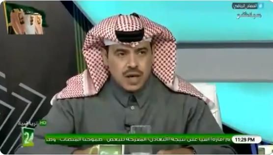 بالفيديو..عبدالرحمن الجماز: هذا اللاعب هو افضل لاعب في مباراة الهلال والنصر !