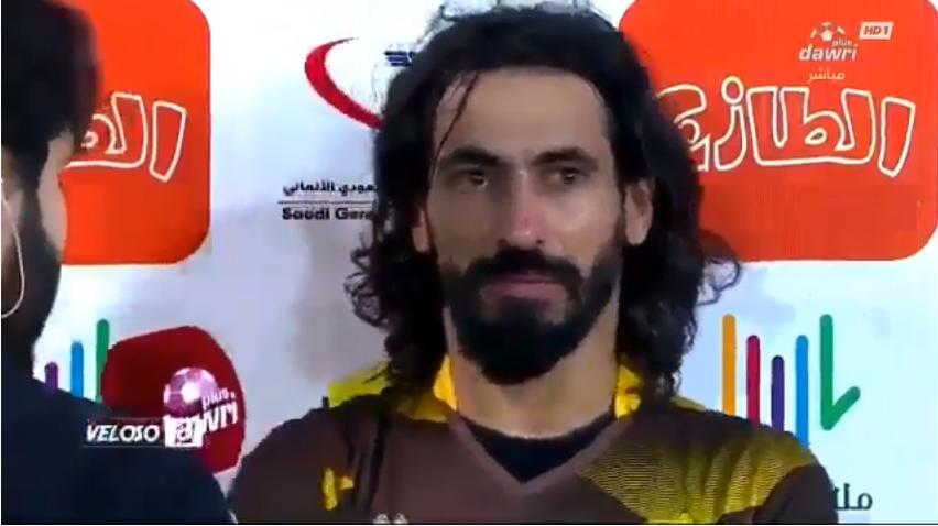 بالفيديو..حسين عبدالغني يعلق عن أمنيته في الاعتزال في النادي الاهلي