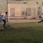بالفيديو.. السلطانة هويام تلعب كرة القدم بنادي الزمالك