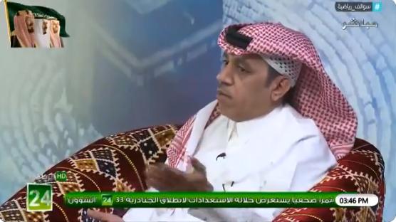 بالفيديو..محمد الذايدي:عشاق الهلال ومحبيه غير راضين عنه