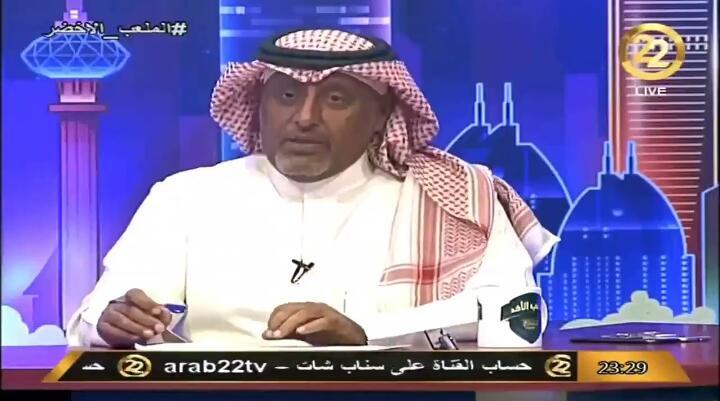بالفيديو.. خالد العقيلي: هذا اللاعب المفروض ما ينزل الملعب !!