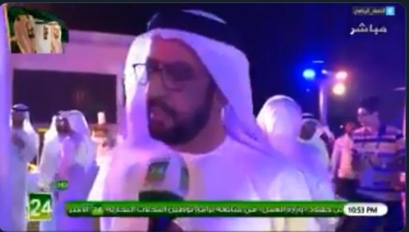 """بالفيديو.. إعلامي اماراتي: المنتخب السعودي """"سيد آسيا"""""""