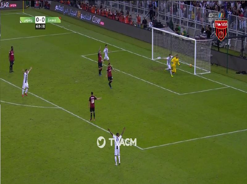 بالفيديو.. رونالدو يسجل الهدف الأول لـيوفنتوس في مرمى ميلان