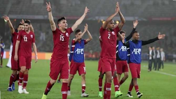بالفيديو.. قطر تفوز على العراق بقدم عراقية سورية