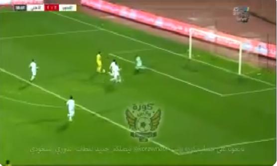 بالفيديو.. جهاد الحسين يسجل الهدف الثاني للتعاون في شباك الأهلي!