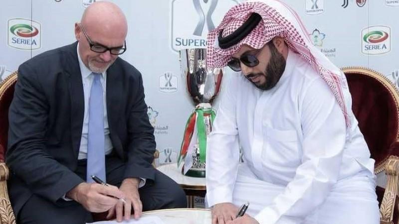 """أول تعليق من """"تركي آل الشيخ"""" على نجاح تنظيم كأس السوبر الإيطالي"""